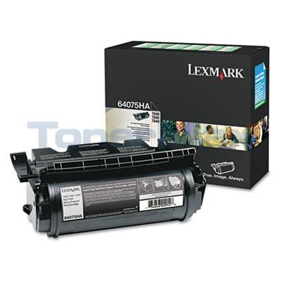 LEXMARK T644 RP PRINT CARTRIDGE 21K